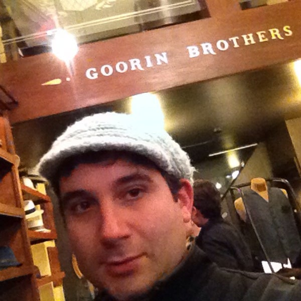 Photo taken at Goorin Bros. Hat Shop by James A. on 11/17/2013