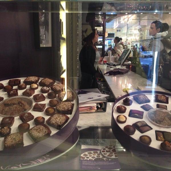 Photo taken at Vosges Haut Chocolat by Alexandra L. on 11/23/2013