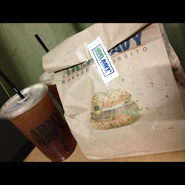 Photo taken at Army Navy Burger + Burrito by Chai N. on 11/23/2012