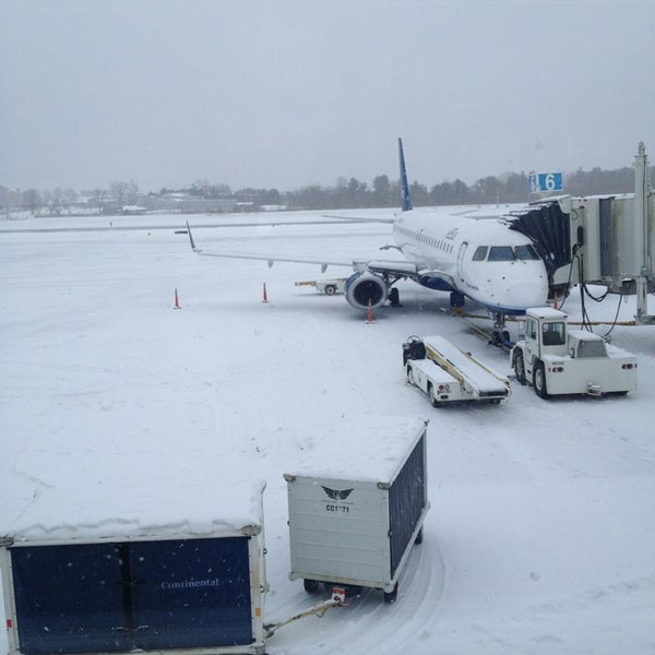 Photo taken at Portland International Jetport (PWM) by Kristen M. on 12/27/2012