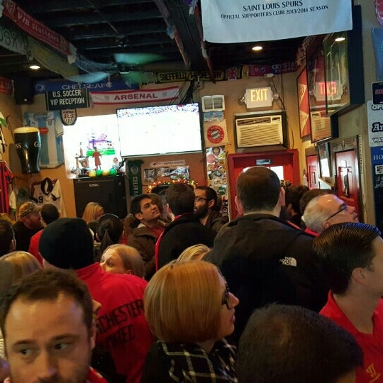 Photo taken at Amsterdam Tavern by Tim C. on 1/17/2016