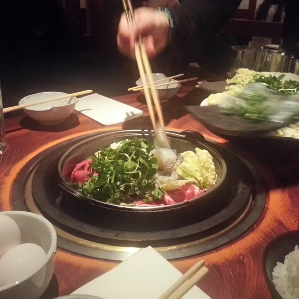 Photo taken at Shabu-Tatsu by Alice L. on 2/8/2014