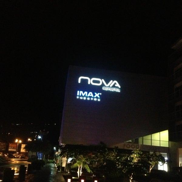 Photo taken at Nova Cinemas by Enrique H. on 9/1/2013