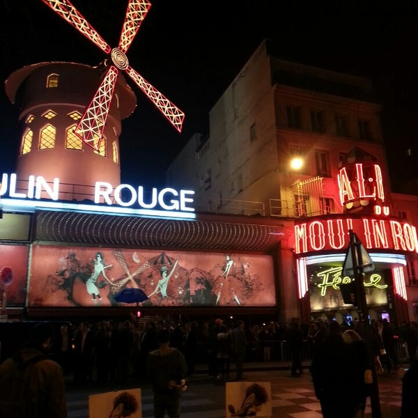 Photo taken at Moulin Rouge by Niccolò G. on 3/14/2014