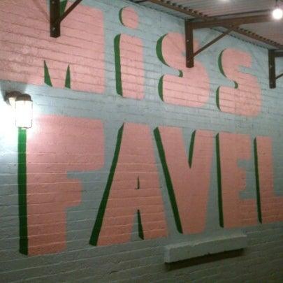 Photo taken at Miss Favela by Sirio V. on 12/2/2012