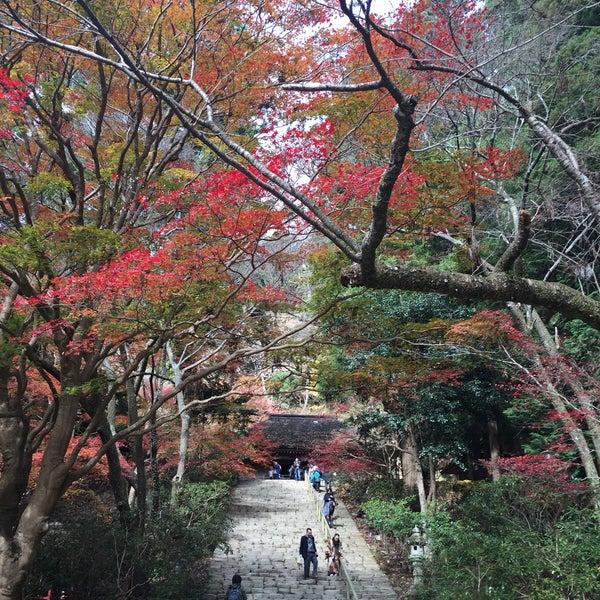 Photo taken at 室生寺 by Ishikawa Y. on 12/1/2015