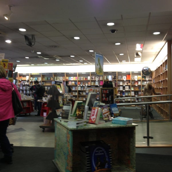 Photo taken at Foyles by William B. on 4/27/2013