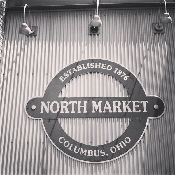 Photo taken at North Market by Kim D. on 5/24/2013