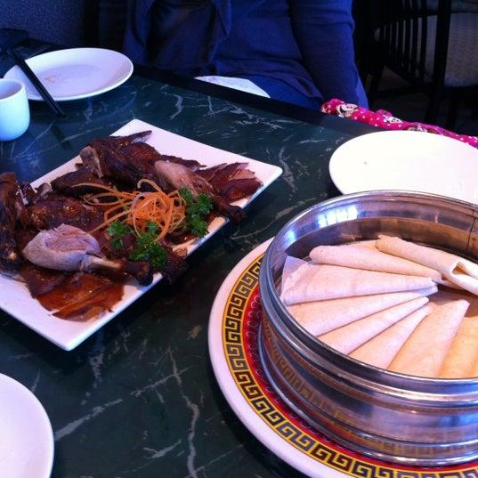 Photo taken at Sang Kee Peking Duck House by Juan M. on 11/17/2012