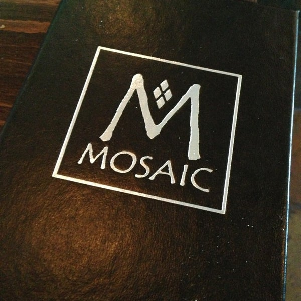 Photo taken at MOSAIC Restaurant Charleston by Donald W. on 8/9/2013