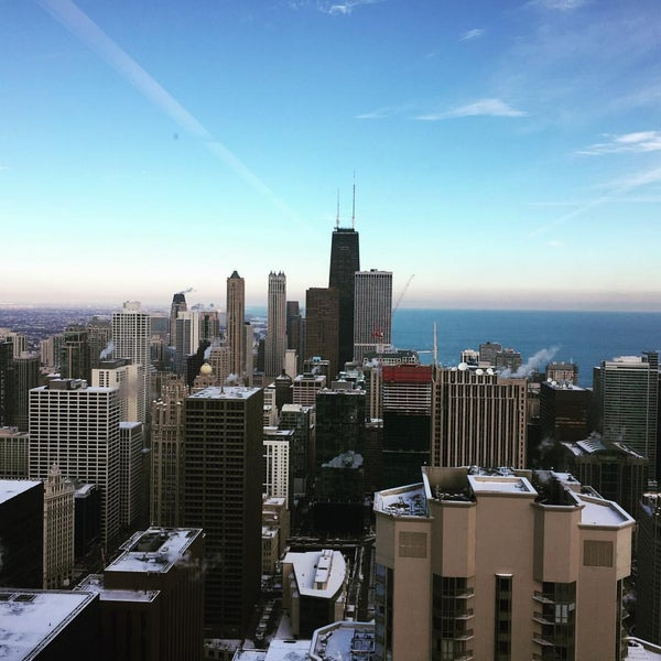 Photo taken at Aon Center by Marc B. on 12/15/2016