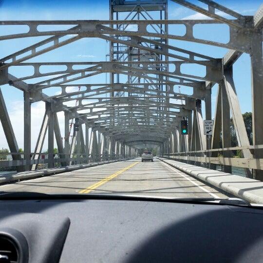 Photo taken at Rio Vista Bridge by JoJo P. on 7/27/2014