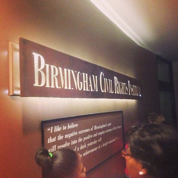 Photo taken at Birmingham Civil Rights Institute by Erin W. on 5/4/2014