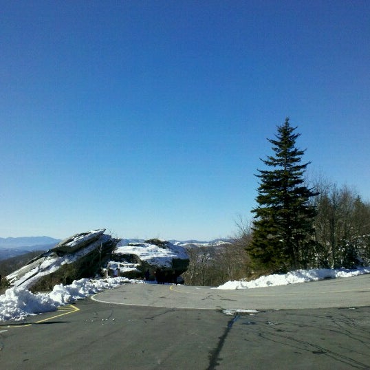 Photo taken at Grandfather Mountain by renata p. on 1/19/2013