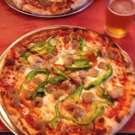 Photo taken at Regina Pizzeria by mdawaffe on 4/12/2012