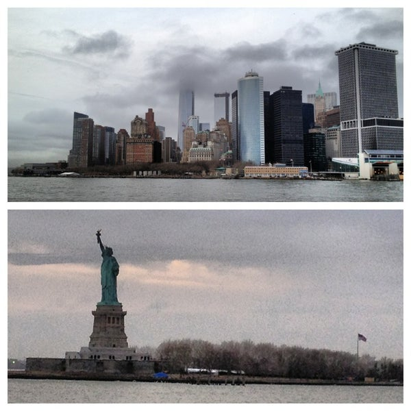 Photo taken at Staten Island Ferry Boat - Guy V. Molinari by Bridget on 3/11/2013