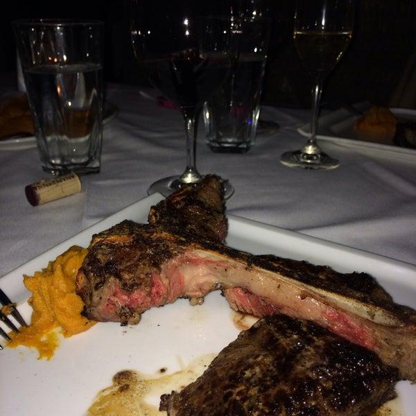 Photo taken at Al Biernat's Prime Steak & Seafood by Andre O. on 5/6/2014