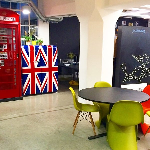 Photo taken at Wayra UK by Jordi V. on 12/22/2014