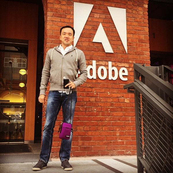 Photo taken at Adobe by Eric C. on 4/22/2015