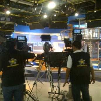 Photo taken at Multimedios Televisión by David E. on 7/24/2012