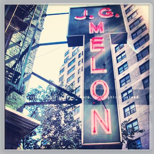 Photo taken at J.G. Melon by PHUDE-nyc on 7/15/2013