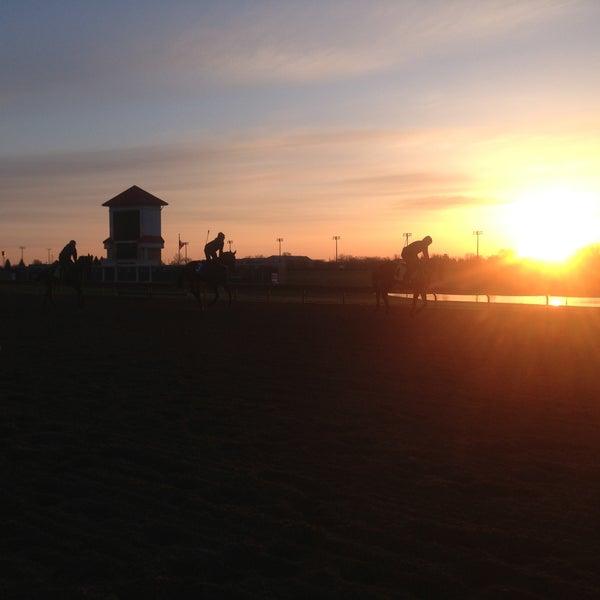 Photo taken at Prairie Meadows by Brandi Jo F. on 4/25/2013