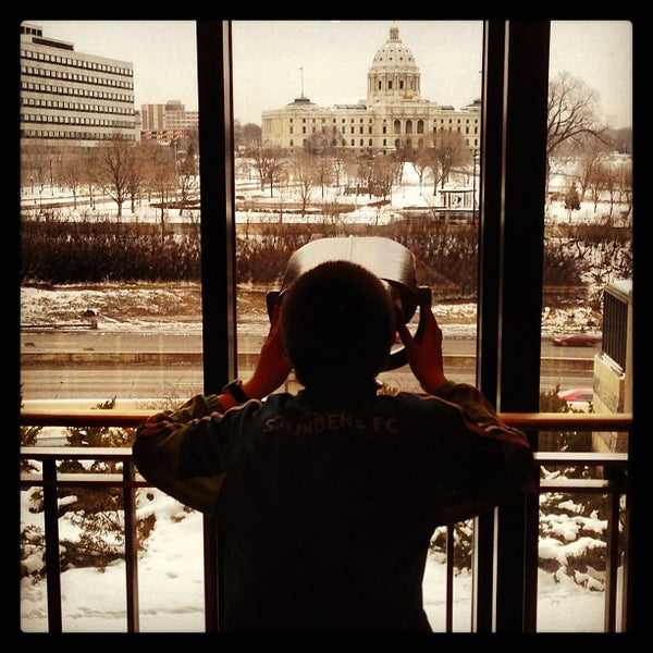 Photo taken at Minnesota History Center by Rob L. on 2/9/2013