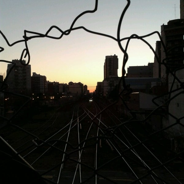 Photo taken at Estación Caballito [Línea Sarmiento] by Analia T. on 8/19/2014