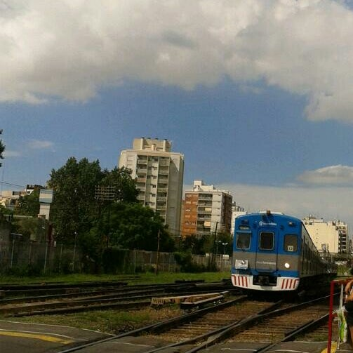 Photo taken at Estación Caballito [Línea Sarmiento] by Analia T. on 1/30/2014