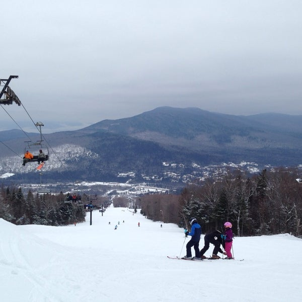 Photo taken at Bretton Woods by Aaron C. on 2/2/2014