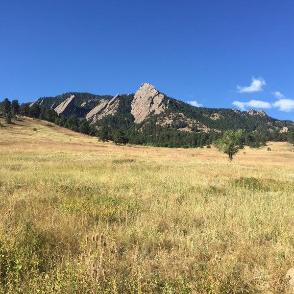 Photo taken at Colorado Chautauqua National Historic Landmark by Heather L. on 9/20/2015