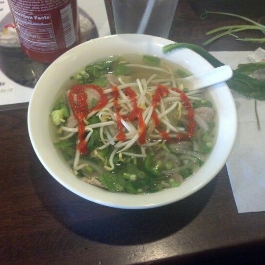 Photo taken at Bowl of Pho by Lindsay F. on 11/21/2012