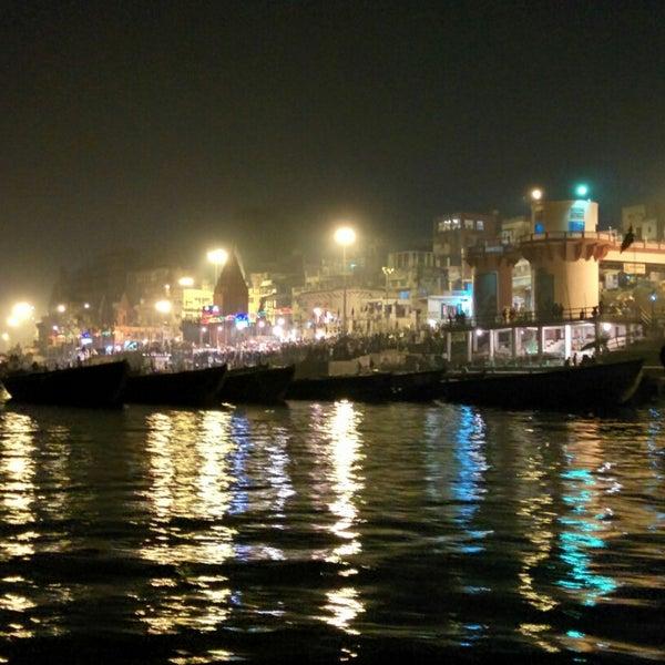 Photo taken at Dasaswamedh Ghat by Aakash on 12/13/2014