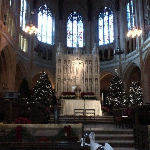 Photo taken at St. Dominic's Catholic Church by Nina T. on 12/29/2012
