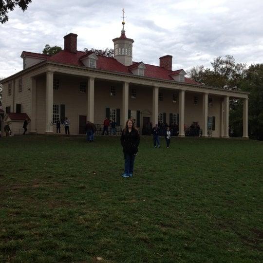 Photo taken at George Washington's Mount Vernon Estate, Museum & Gardens by Selena B. on 10/8/2012
