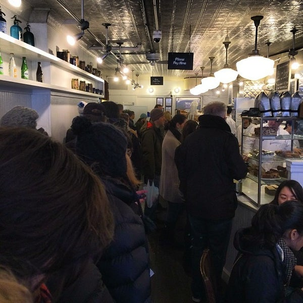 Photo taken at Murray's Bagels by Lee S. on 1/1/2014