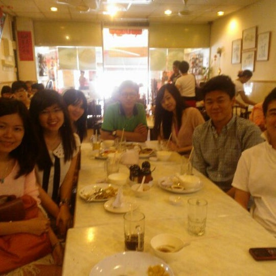 Photo taken at Restoran Tom's Dim Sum by Alex P. on 2/14/2013