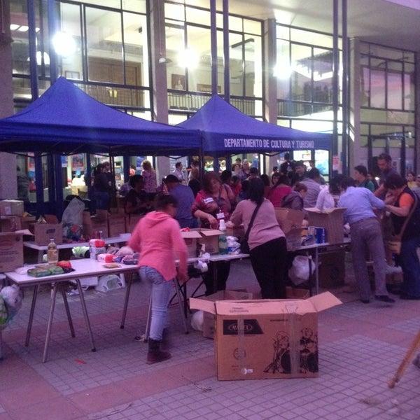 Photo taken at Municipalidad de San Bernardo by Rodrigo O. on 4/13/2014