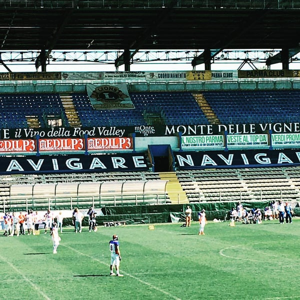 Photo taken at Stadio Ennio Tardini by Hide C. on 4/10/2016