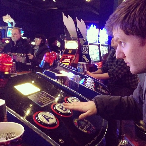 Photo taken at Dave & Buster's by Sara T. on 2/15/2014