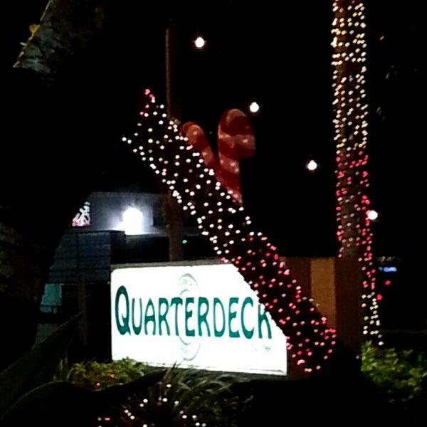 Photo taken at Quarterdeck Restaurant by Rich Q. on 12/16/2014