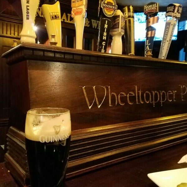 Photo taken at The Wheeltapper Pub by Kristin D. on 3/19/2016