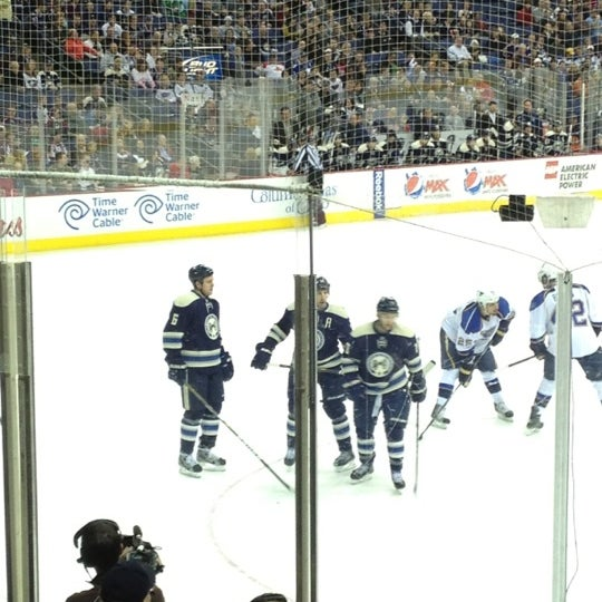 Photo taken at Nationwide Arena by Jim G. on 3/11/2012