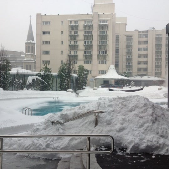 Photo taken at Radisson Blu by Claire J. on 2/15/2012