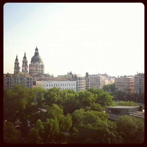 Photo taken at Kempinski Hotel Corvinus by Roberto D. on 6/8/2012