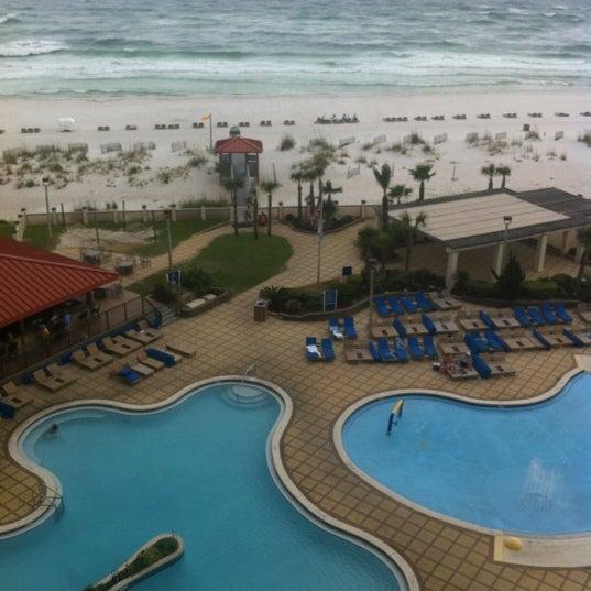 Photo taken at Hilton Pensacola Beach by Jason C. on 6/5/2012