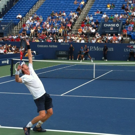 Photo taken at 2013 US Open Tennis Championships by Thomas C. on 9/5/2012
