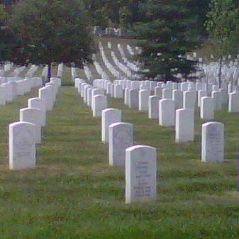 Photo taken at Arlington National Cemetery by Cristina E. on 8/12/2012