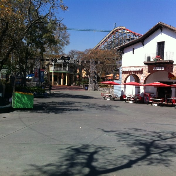Photo taken at Six Flags by Edgar T. on 3/12/2014