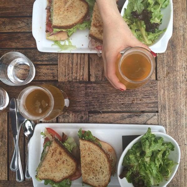 Photo taken at Lula Café by Aliciana B. on 7/12/2014